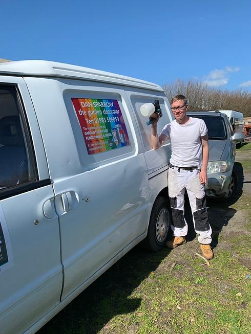 Dan and his van.png