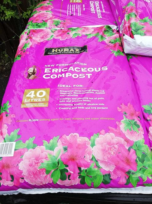 Ericaceous compost 40 ltrs