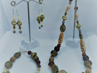 Jenny's beaded jewellery sets