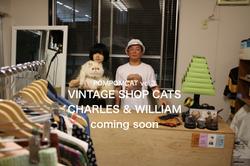 CHARLES & WILLIAM-1 POMPOMCAT