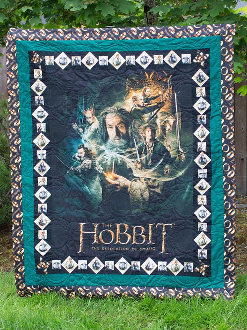 A Hobbit's Tale - The Hobbit Pocket Quilt Pattern