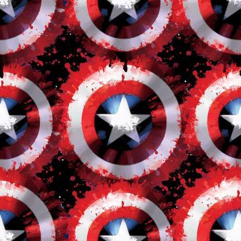 Springs Creative Marvel Avengers - CAPTAIN AMERICA SHIELD FLEECE