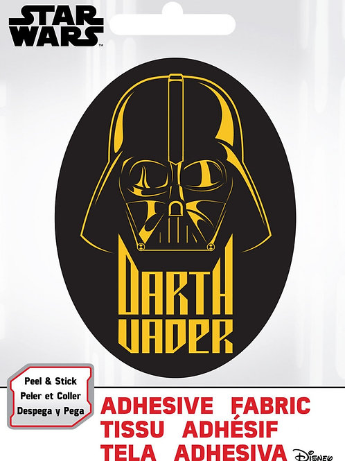 Darth Vader Adhesive Fabric Badge