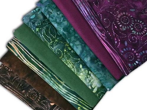 Sew Batik Fat Quarter Bundle - MEDORA