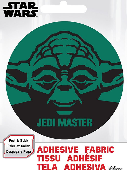 Yoda Adhesive Fabric Badge
