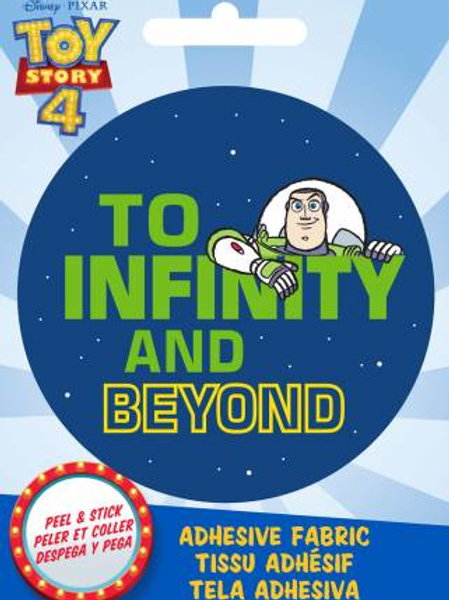 Pixar Toy Story Buzz Lightyear Adhesive Fabric Badge