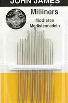 John James Milliners Needles - Sizes 5-10