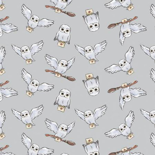 Camelot Wizarding World - HARRY POTTER HEDWIG SOFT WASH IN GREY