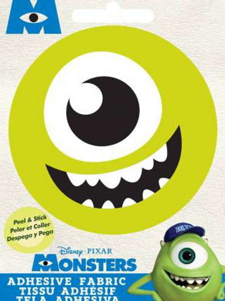 Pixar Monster's Inc. Mike Adhesive Fabric Badge