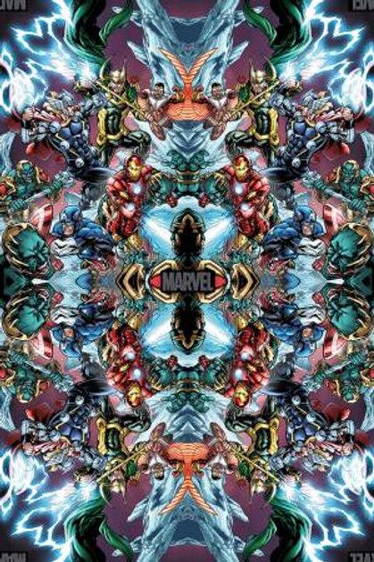Springs Creative Marvel - MARVEL STRIKES DIGITAL PRINT