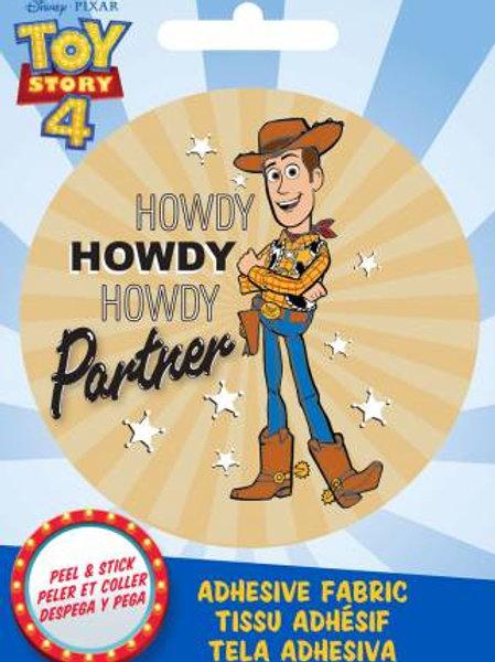 Pixar Toy Story Woody Adhesive Fabric Badge