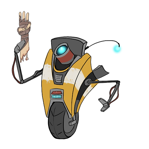 Claptrap 3 Sticker