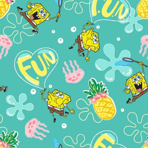 Springs Creative Nickelodeon - SPONGEBOB PINEAPPLE FUN
