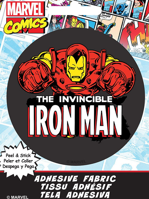 Iron Man Adhesive Fabric Badge