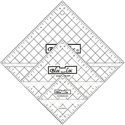Bloc Loc Half Square Triangle Ruler Set #2