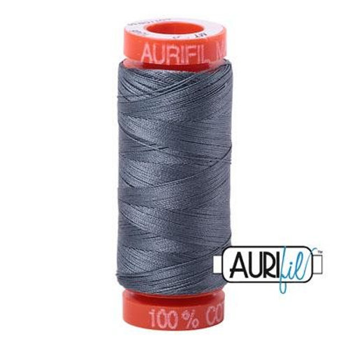 Aurifil Thread 50wt - Charcoal SMALL SPOOL