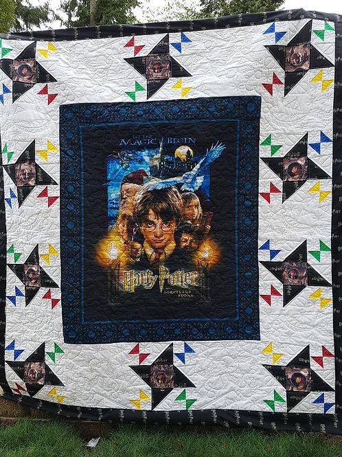 Wingardium Leviosa - Harry Potter Pocket Quilt Pattern