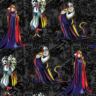 Disney Villains Fabric