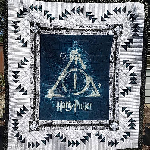 Deathly Hallows Quilt Pattern