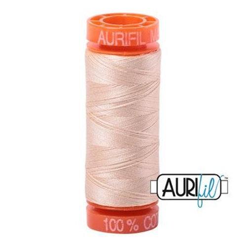 Aurifil Thread 50wt - Neutral SMALL SPOOL