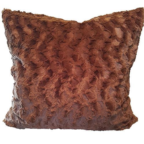 Big 'n' Cozy Zippered Pillow - Pattern