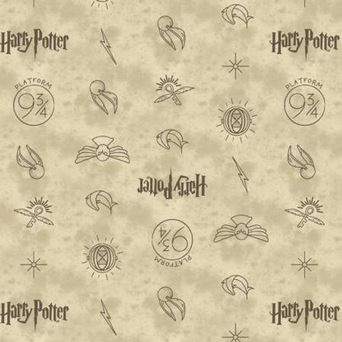 Camelot Wizarding World - Symbols in Cream