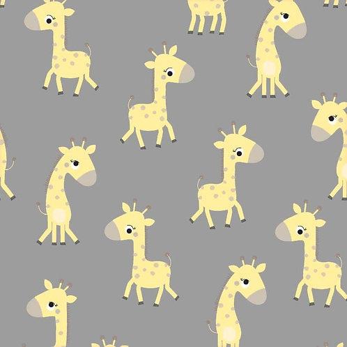 Michael Miller Minky - Bashful Giraffe