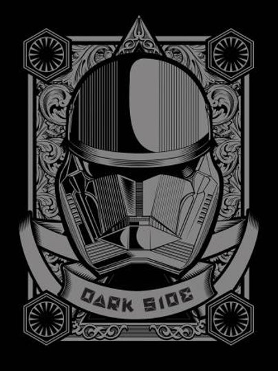 Camelot Star Wars - DARK SIDE PANEL