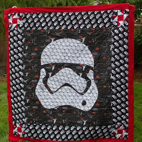 Come to the Dark Side - Star Wars Pocket Quilt Pattern