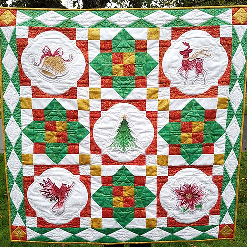 Home for the Holidays Quilt Pattern