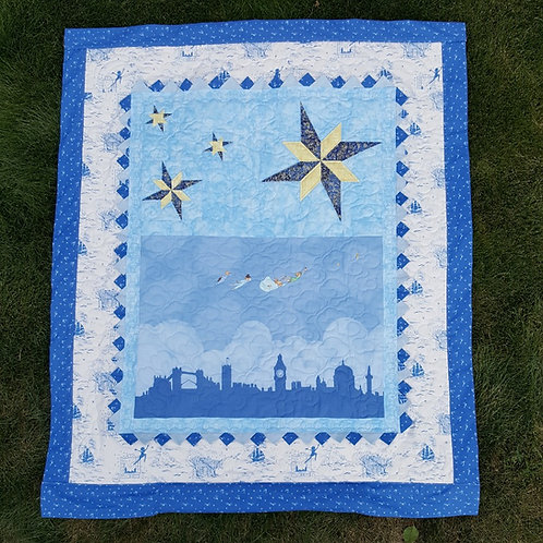 Second Star to the Right - Peter Pan Pocket Quilt Pattern
