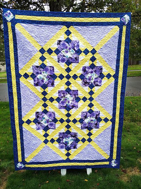 Poppy Mosaic Quilt Pattern