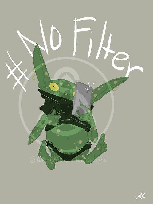 """No Filter Goblin Girl Print 5"""" x 7"""""""
