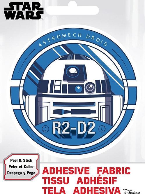R2-D2 Adhesive Fabric Badge