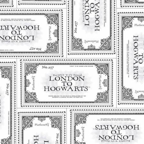 Camelot Wizarding World - HARRY POTTERTICKET TO HOGWARTS IN WHITE