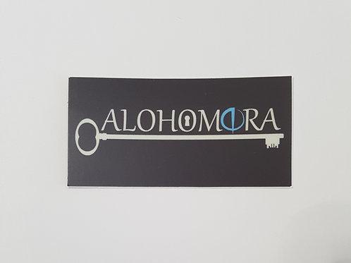Alohomora Sticker