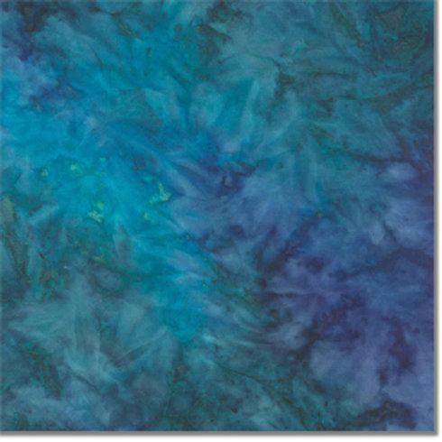 Sew Batik Rayon - Spray - LAKE