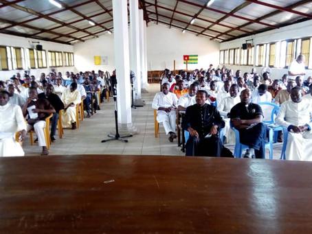 Conférence au Grand Séminaire de LOME