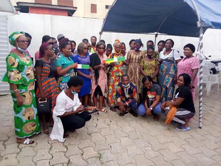 Sensibilisation en partenariat avec l'ONG Bartimée de Cotonou