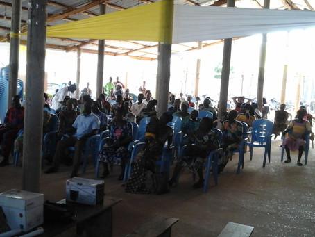 Enseignement de la MOB à St Jean de OUIDAH