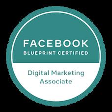 Facebook Bluepring Certified Digital Marketing Associate