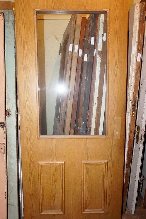 Glass Panel Exterior Door