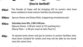 Parade of Hope gearing up for Saturday June 6th event in Spruce Grove and Stony Plain