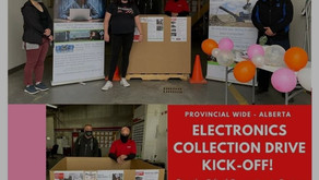 Province Wide Electronics Collection Drive Kick Off!