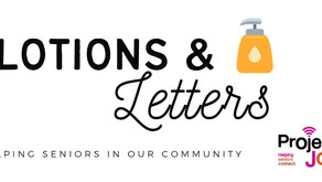 Lotions and Letters project gaining huge support from community