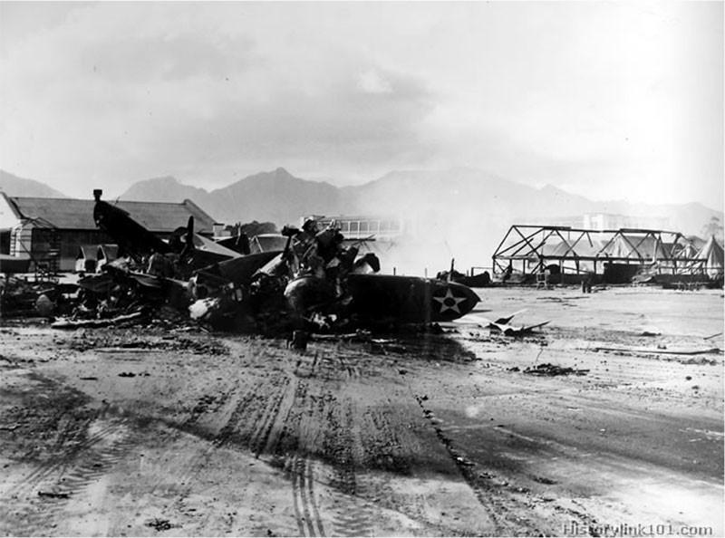 Wheeler Airfield Aftermath.