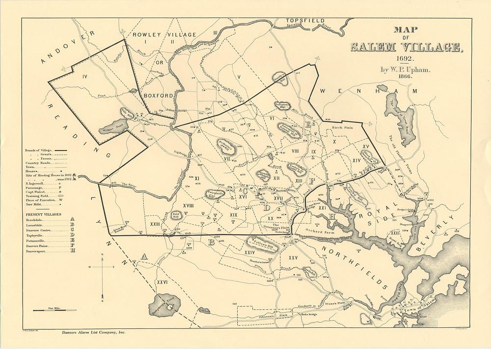 Salem in 1692