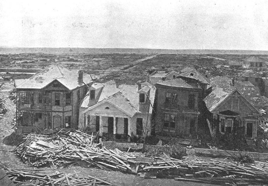 Galveston- the rare few standing buildings