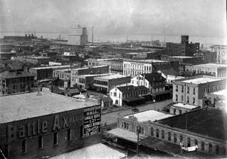 Galveston before storm 1900