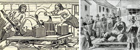 Pressing of Giles Corey